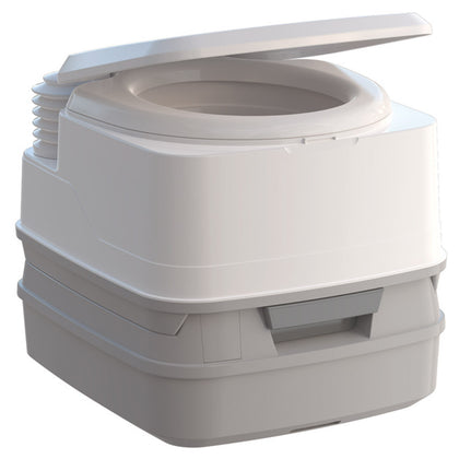 Thetford Porta Potti 260B Marine Toilet with Bellows Pump and Hold-Down Kit [92862]
