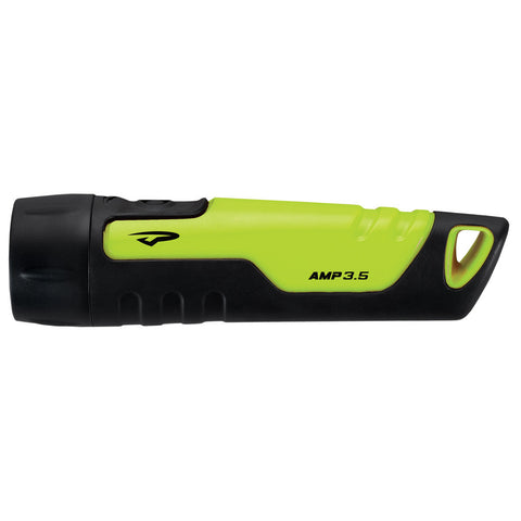 Princeton Tec Amp 3.5, 170 Lumen Handheld LED Flashlight - Neon Yellow-Black [A170-NY]