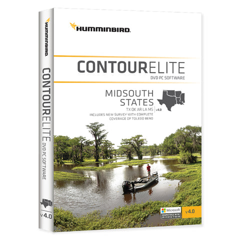 Humminbird Contour Elite MidSouth States 2018 - Version 4 [600010-4]