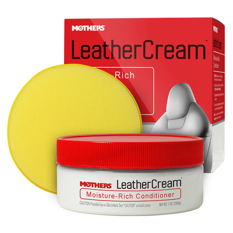 Mothers Leather Cream Moisture-Rich Conditioner - 7oz - *Case of 6* [06310CASE]