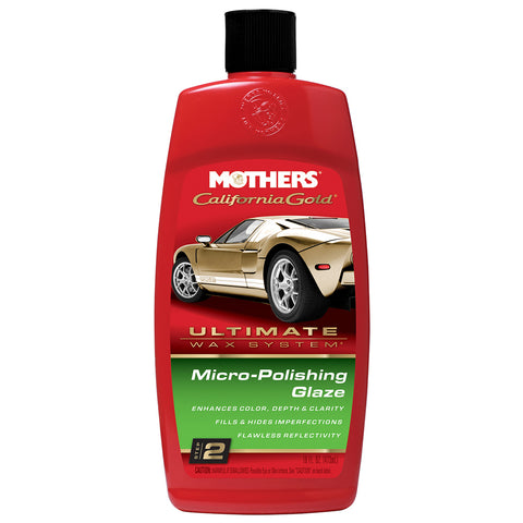 Mothers California Gold Micro-Polishing Glaze 16oz - Step 2 - *Case of 6* [08100CASE]