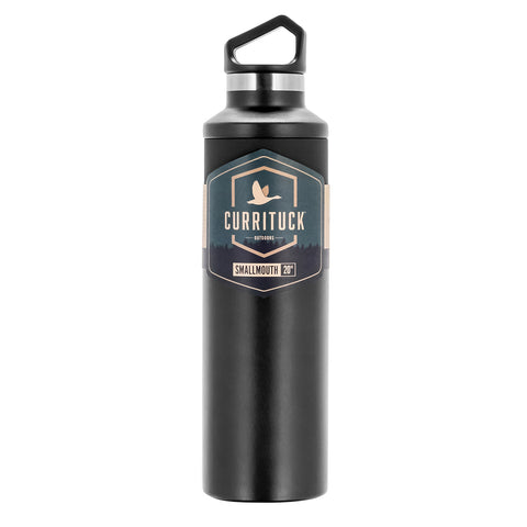 Camco Currituck Standard Mouth Beverage Bottle - 20oz - Charcoal [51942]