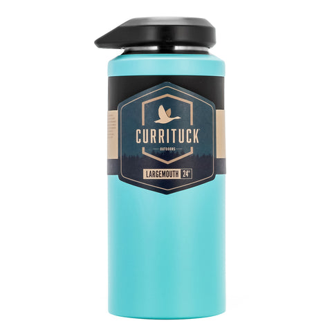 Camco Currituck Wide Mouth Beverage Bottle - 24oz - Seafoam [51945]