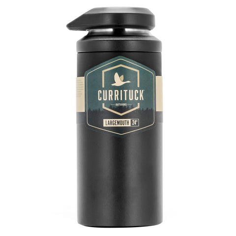 Camco Currituck Wide Mouth Beverage Bottle - 24oz - Charcoal [51946]