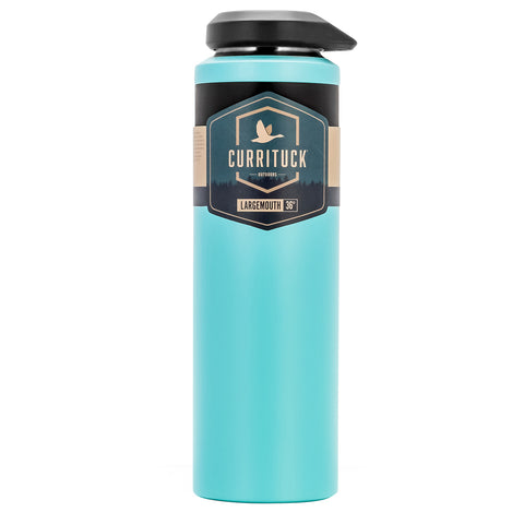 Camco Currituck Wide Mouth Beverage Bottle - 36oz - Seafoam [51949]