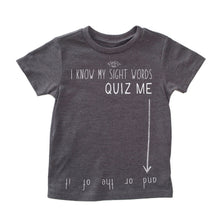 Sight Words Tee