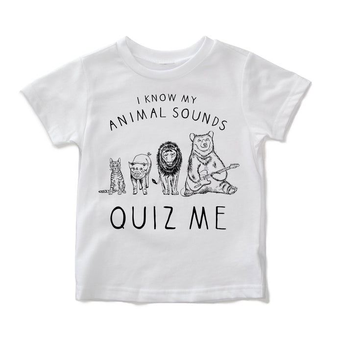 Animal Sounds Tee