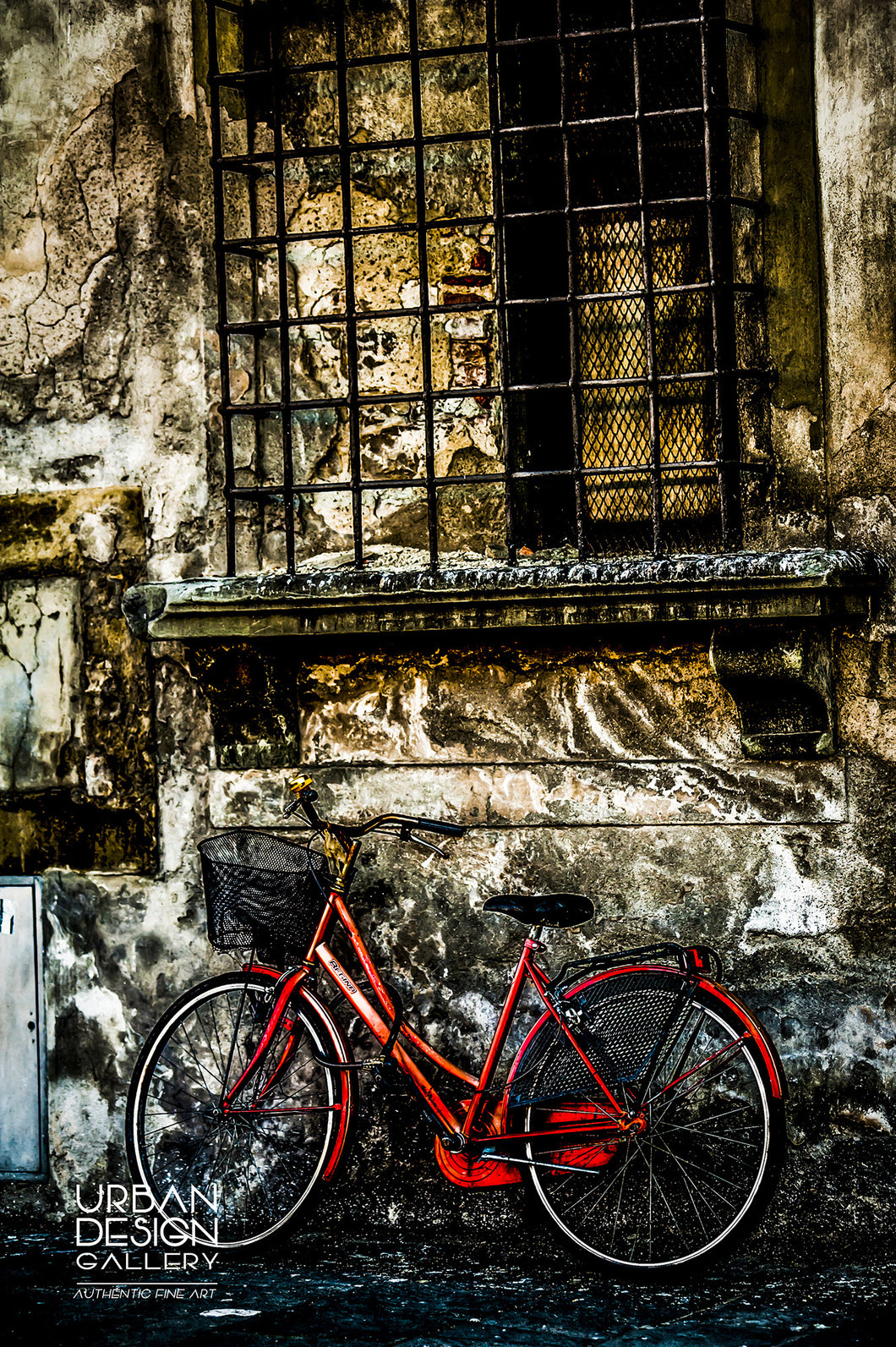 Bike In The Alley