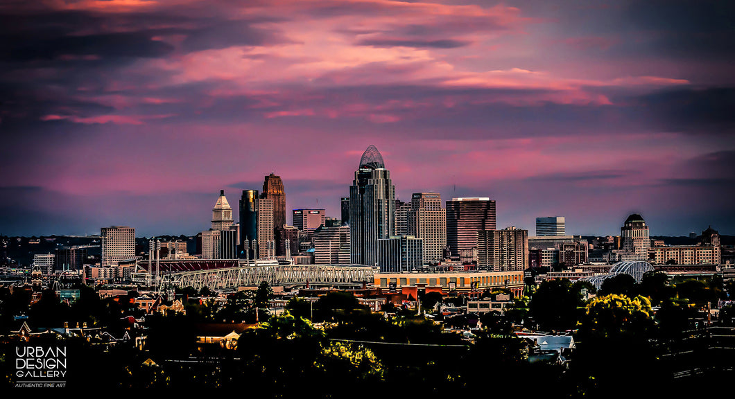 Sunset In Cincinnati