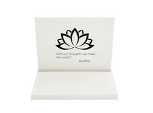 Mini Buddha Board  -  Special Mindfulness Edition  (White)