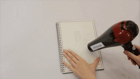 Smart and reusable notebook