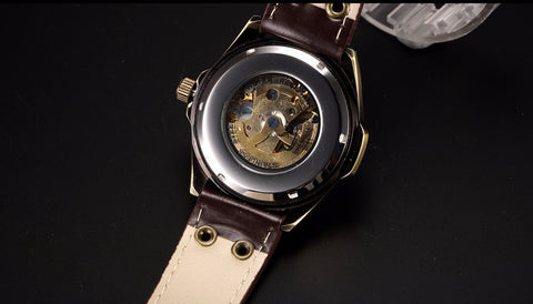 steampunk mechanical watch