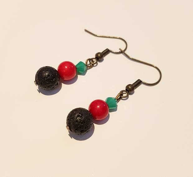 Budhha Lava Earrings