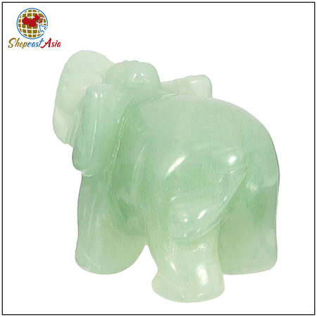 Crystal Quartz Elephant-Removing Obstacles & Brinsg Good Luck