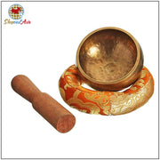 Ohm Tibetan Meditation Bowl Set