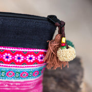 Unique Thai Vintage Hmong Embroidered Bag