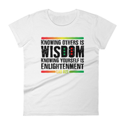 Women's short sleeve WISDOM t-shirt