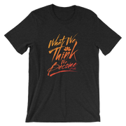 Short-Sleeve Unisex THINK T-Shirt
