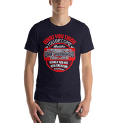 Short-Sleeve Unisex T-Shirt  Buddha - William Blake - Corinthians Quotes