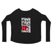 Ladies' Long Sleeve FLOWS Tee