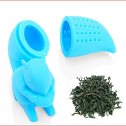 Creative Lazy Squirrel Tail Tea Filter Strainers
