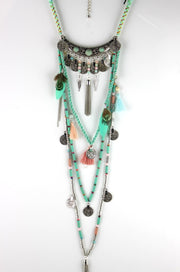 Ethnic Long Necklace
