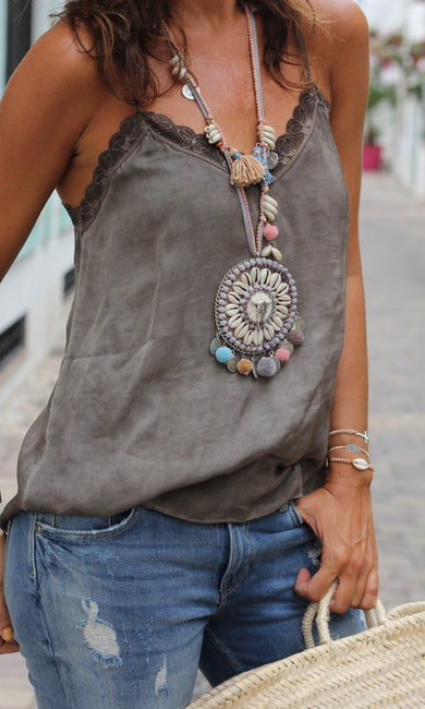 Bohemia Bead Statement Necklace