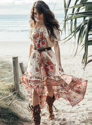 Floral summer dress Shopeast Asia