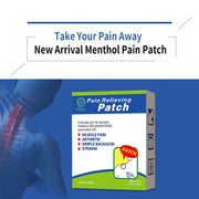 Chinese Herbal Menthol Pain Patch
