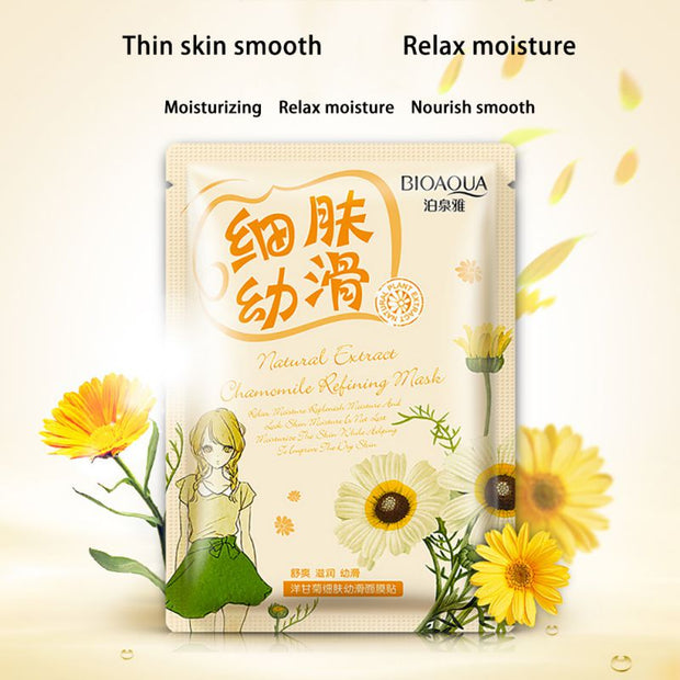 Chamomile Seaweed Plant Collagen Crystal Mask