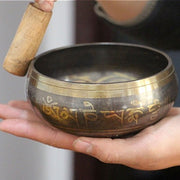 Himalayan Singing Bowl with Hand Hammered for Meditation