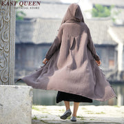 Chinese Traditional Robe With Hood