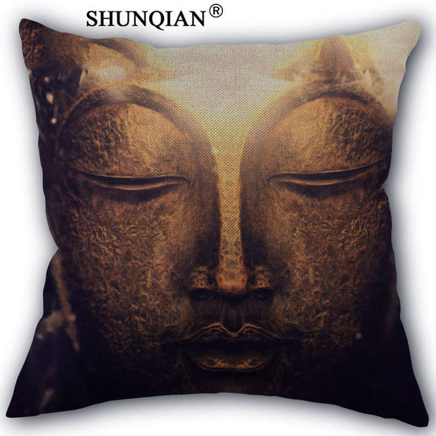 Decorative Buddha Pillow Case Shopeast Asia Mesmerizing Buddha Decorative Pillows