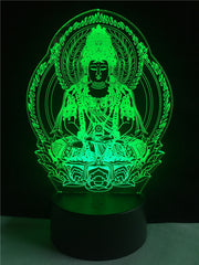 Buddha 7 color Night Lamp