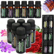 6Pcs/set 100% Pure Natural Essential Oils Kit 10ml For Diffuser