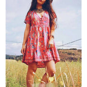 Summer Style Bohemia Beach Dresses