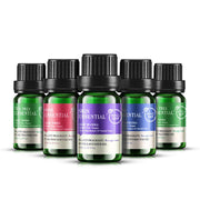 3 Style Natural Plant Flowers Essential Oil: Lavender Rose & Tea Tree