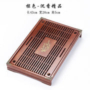 Chinese Wood Tea Tray