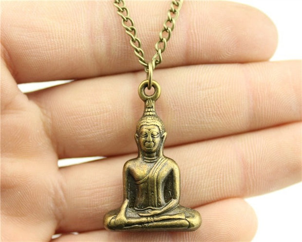Buddha Antique Long Necklace