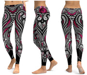 LI-FI Print Yoga Pants Women Unique Fitness Leggings Workout Sports Running Leggings Sexy Push Up Gym Wear Elastic Slim Pants