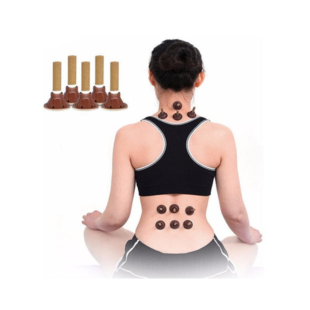 Moxa Cupping Self-Adhesive Massage Sticker