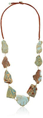 Jasper Genuine Stone Necklace