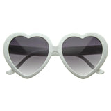 CUTE WOMENS LOLITA SWEET HEART SHAPE SUNGLASSES 8182d-B