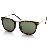 VINTAGE ARTFUL EUROPEAN FASHION HORNED RIM SUNGLASSES 8600f-A