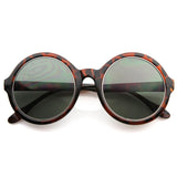 LARGE FASHION WOMENS OVERSIZE SUPER ROUND SUNGLASSES 8620f-A