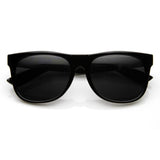 SUPER RETRO HIPSTER HORNED RIM FRAME SUNGLASSES 8693d-A