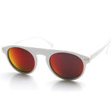 EUROPEAN MIRROR LENS ROUND P3 RETRO AVIATOR SUNGLASSES 8758e-A