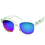 CRAZY FROST FRAME MIRRORED LENS OVERSIZE SUNGLASSES 8946d-A