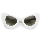 RETRO MOD SUPER TRENDY WOMEN'S FASHION CAT EYE SUNGLASSES 9233d-A