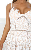 ‰ªÁ  Summer White Out Lace Crochet Dress ‰ªÁ